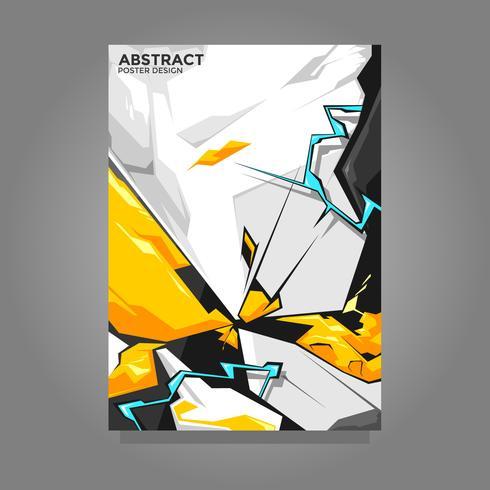 Abstrakter Plakat-Design-Vektor