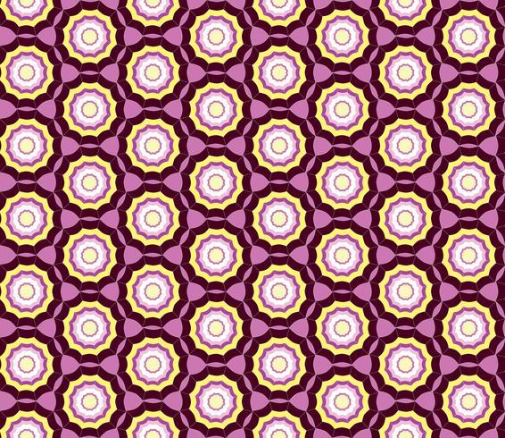 Geometrisch naadloos patroon. Abstracte ornament Swirl weefsel achtergrond