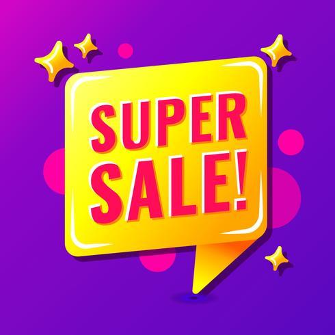 Super Sale Poster Vektor