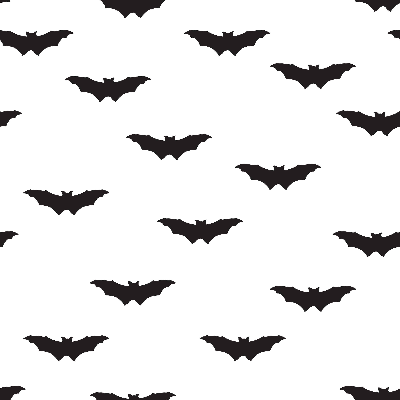 Halloween bat seamless pattern. Holiday Halloween ...
