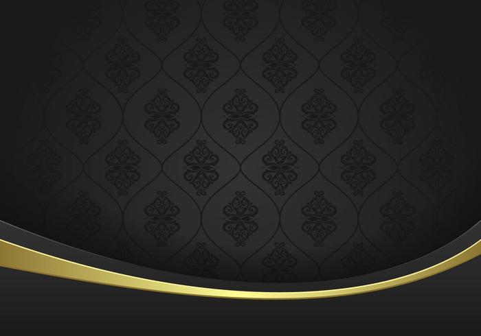 Eleganz-Schwarz-Hintergrund-Vektor