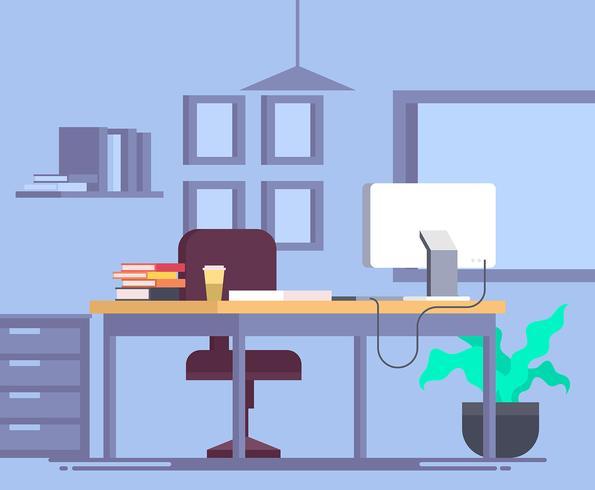 Office illustratie