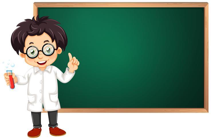 Scientifique en classe