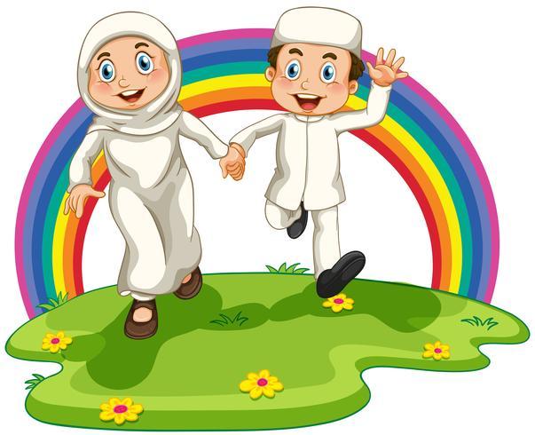 Muslimska paret