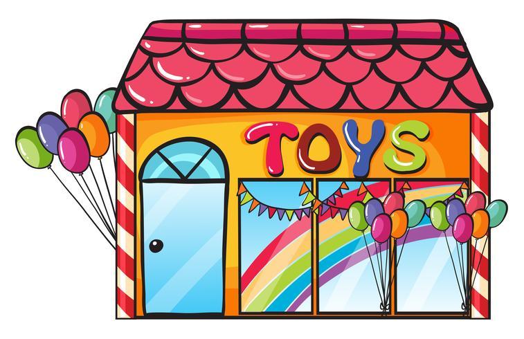 un magasin de jouets