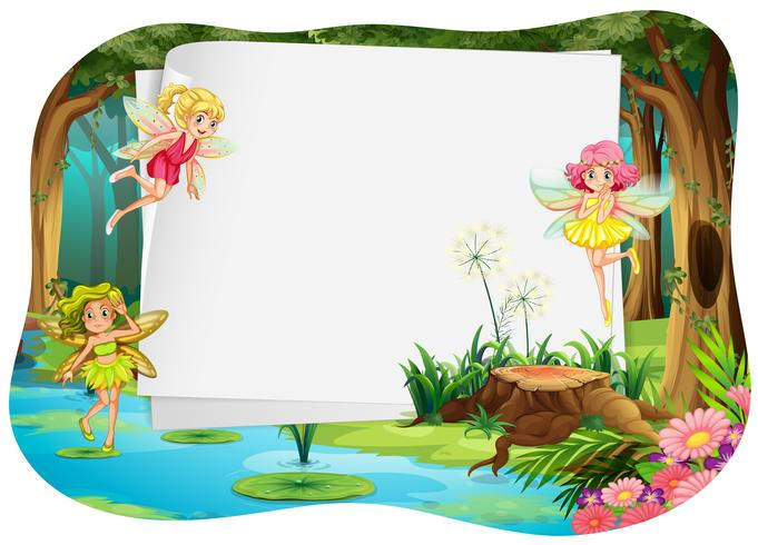 Banner and fairy