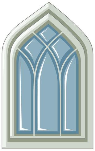 Conception de la fenêtre dans un style médiéval
