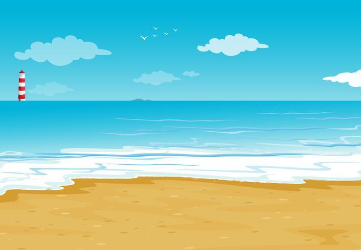 un oceano e una casa leggera
