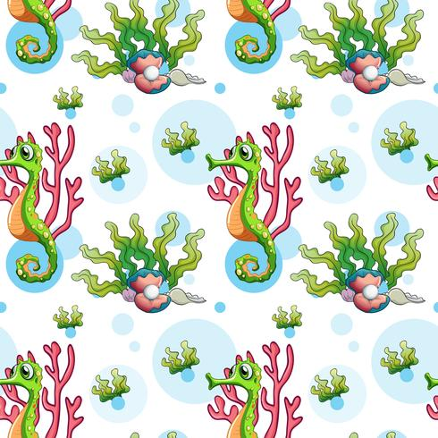 Ein nahtloses Unterwasserdesign
