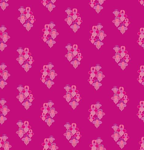 Abstraktes nahtloses mit Blumenmuster. Geometrischer dekorativer Hintergrund der Blume.