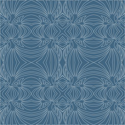 Abstract geometrisch patroon Golf naadloze textuur. Bloemen ornament