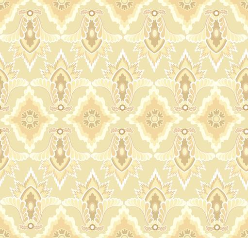 Patrón de flor oriental Fondo floral abstracto remolino de la tela