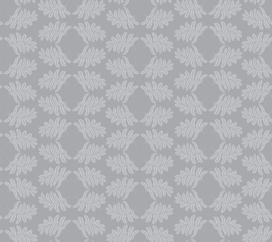Floral ornamental pattern. Geometric flourish background
