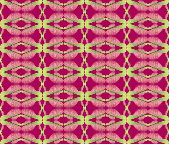 Resumen patrón étnico floral. Ornamento geométrico vector