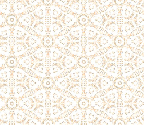 Abstract dot floral seamless texture. Stylish tile pattern