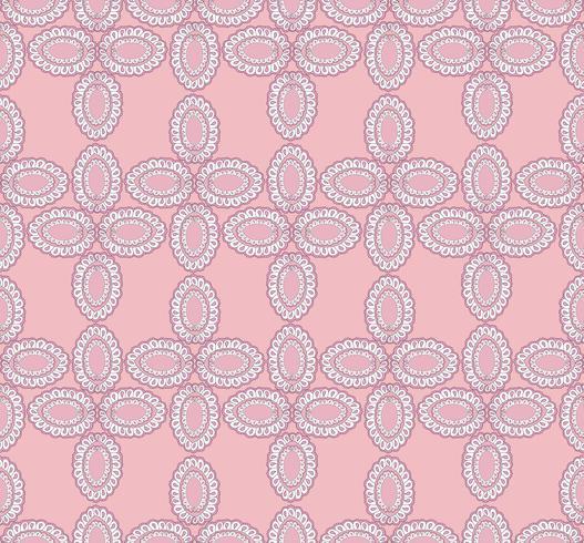 Motif ethnique floral abstrait. Ornement géométrique. Mer orientale
