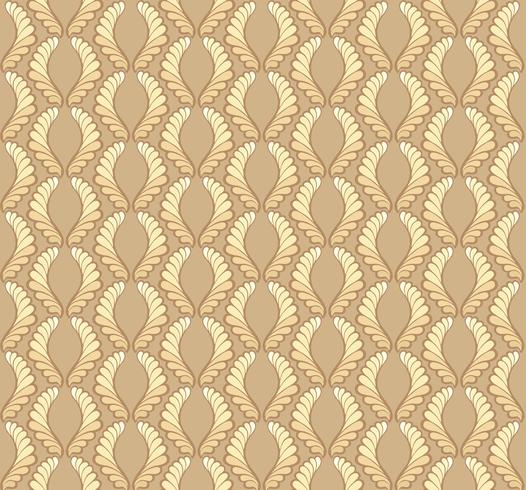 Motif de fleurs orientales Ornement floral abstrait Fond tissu Swirl