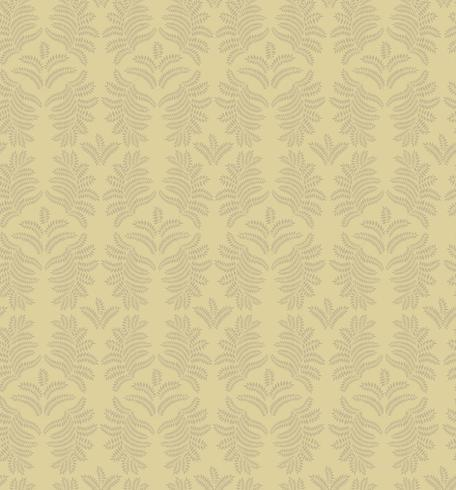 Floral ornamental pattern. Geometric flourish background