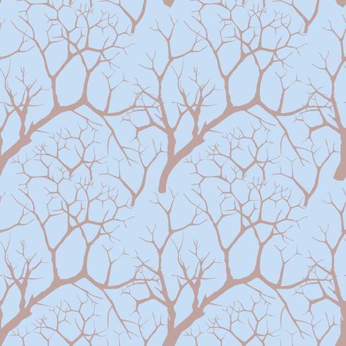 Wald nahtloser Hintergrund. Garten baum muster