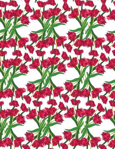 tulips-background-2 vector
