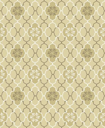 Seamless Flower Pattern Abstract Floral Ornament Brocade