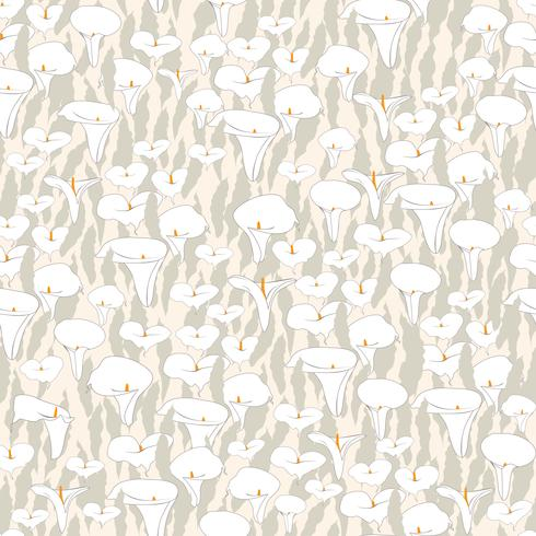 Floral seamless pattern. Flower cale background.