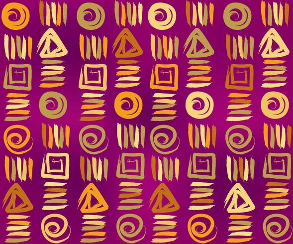 Geometrische etnische naadloze patroon. Abstract bloemenornament.