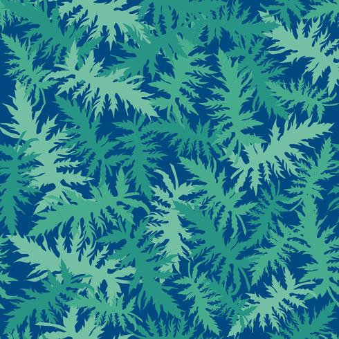 Tropcal leaves seamless pattern. Beautiful florl leaf background.