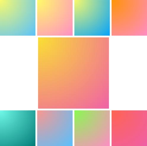 Fond de couleurs vives floues. Dégradé créatif pour carte de voeux, invitation, affiche, brochure, bannière et calendrier.
