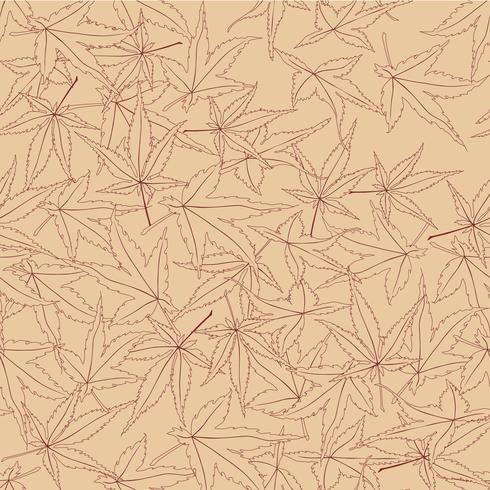 Resumen patrón floral hojas remolino de fondo sin fisuras