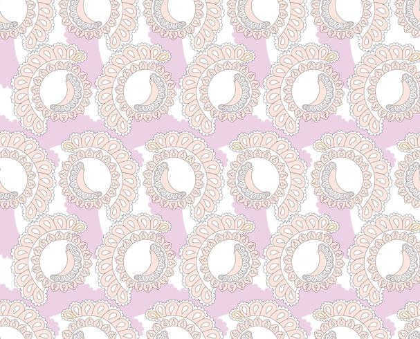 Abstract oriental tile pattern. Geometric ornament