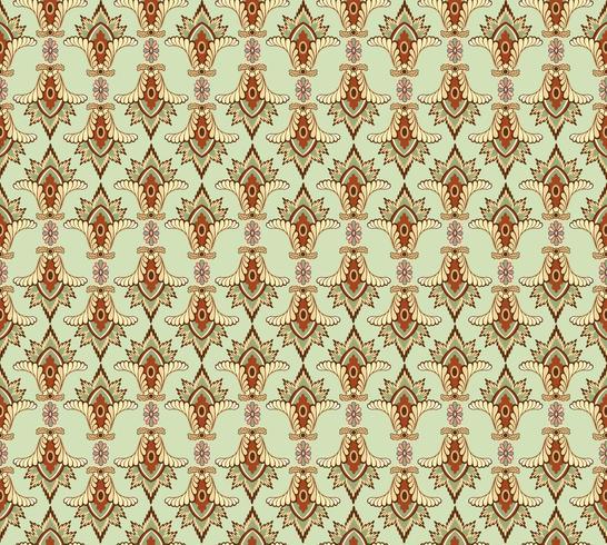Abstract bloemen etnisch patroon. Geometrisch bloemenornament.