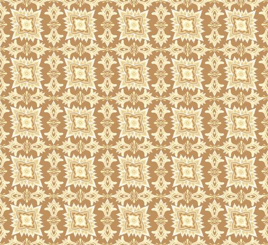 Oriental flower pattern Abstract floral ornament Swirl fabric background vector