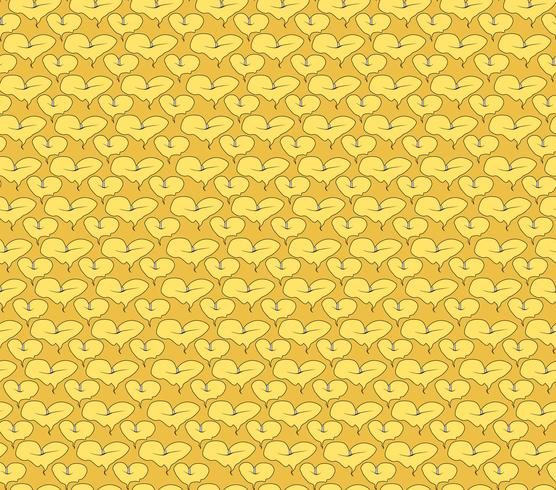 Abstract oriental floral seamless pattern. Flower geometric ornamental background. vector