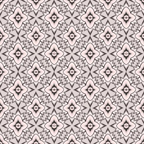 Patrón de flor transparente Ornamento floral abstracto. Textura de la tela oriental