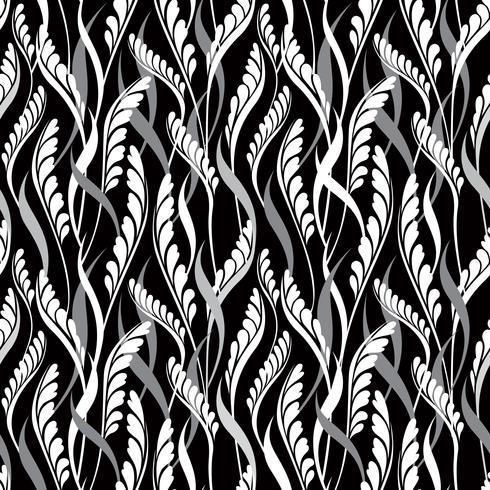 Floral pattern sans soudure. Feuilles fond Texture de jardin s'épanouir