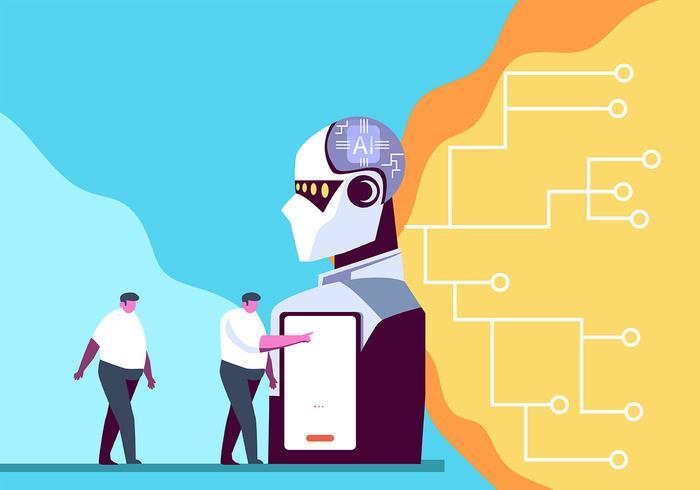 Artificiell intelligens vektor