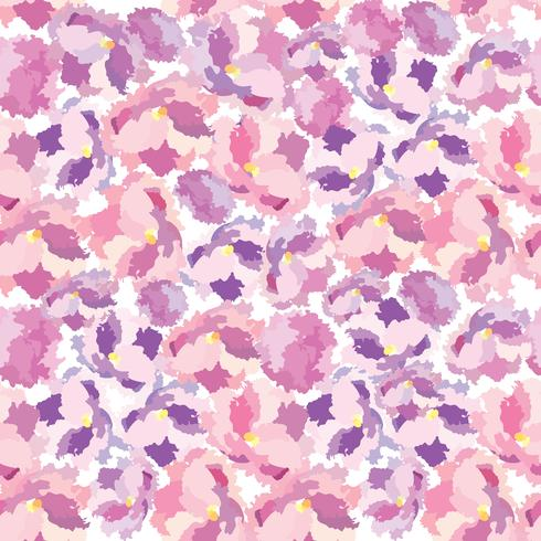 Abstract floral dot Flower petal seamless pattern Swirl floral texture