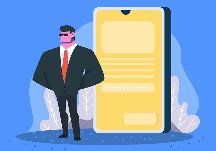Cybersicherheit und Telefon