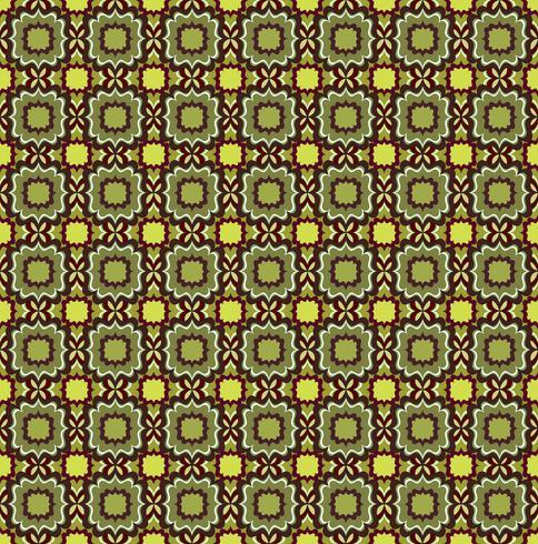 Modello linea senza soluzione di continuità. Ornamento floreale astratto. Trama geometrica vettore