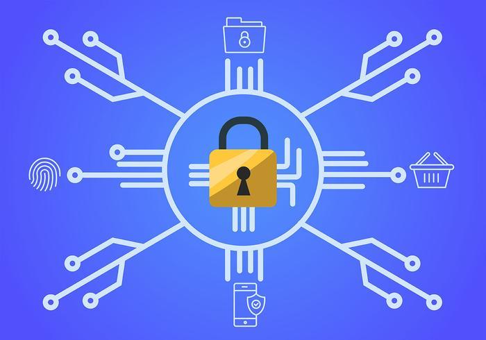 Cyberbeveiliging en vergrendelen