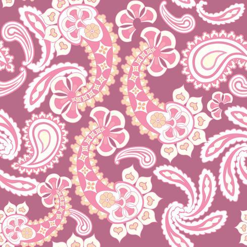 Padrão sem emenda floral. Textura oriental. Enfeite de flores