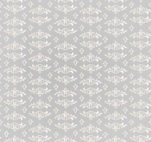 Seamless flower pattern. Abstract floral ornament. Brocade Texture