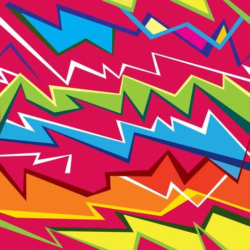 Modelo inconsútil geométrico abstracto. Ornamento de la línea zig zag festivo.