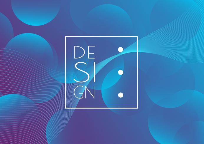 Fundo abstrato design criativo vetor