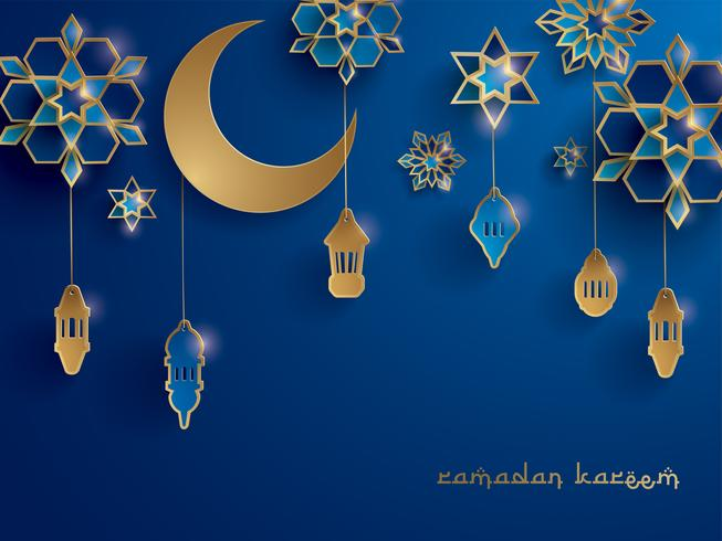 Paper graphic of Islamic decoration