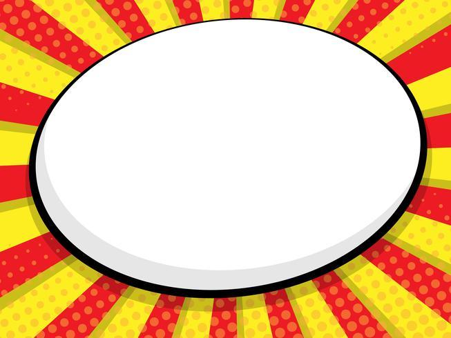 blank speech bubble comic book