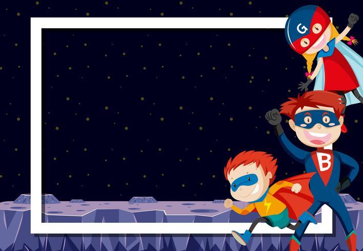 supereroi nello spazio