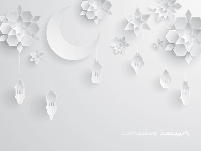 Grafica cartacea della decorazione islamica