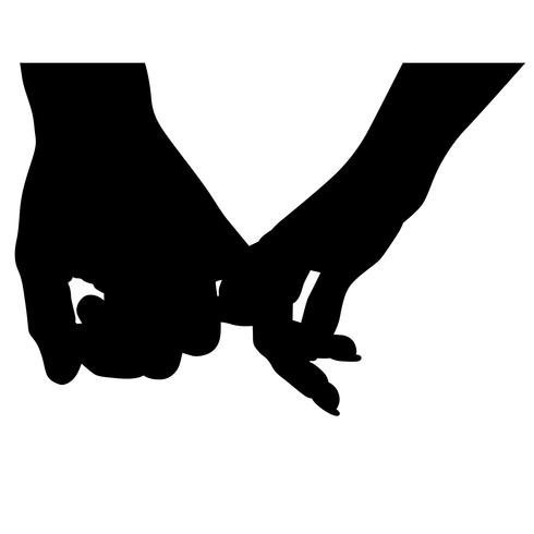 Hand in Hand Vektor